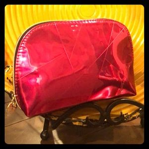 YVES SAINT LAURENT PINK COSMETIC CASE NEW W/O TAGS